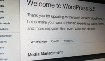 WordPress 3.5 RC1