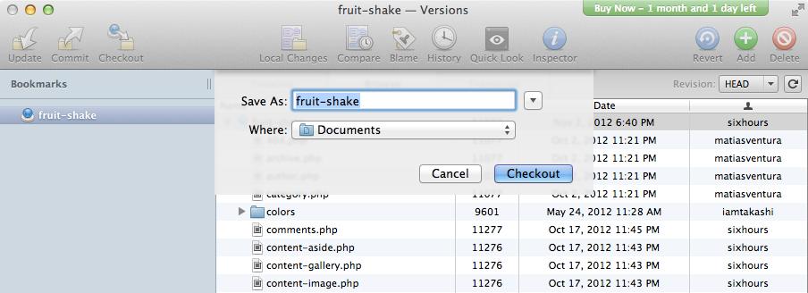 Загружаем тему Fruit Shake с WordPress.com