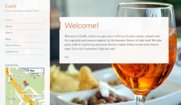 WordPress.com для ресторанов