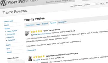 Рейтинг и обзор тем и плагинов WordPress
