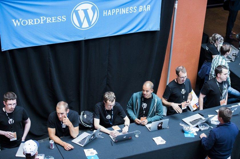 Happiness Bar на WordCamp San Francisco 2012