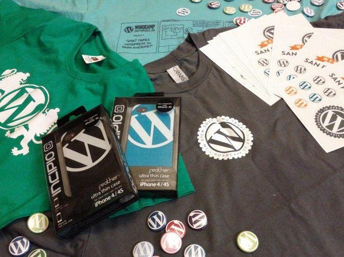 Сувениры WordCamp