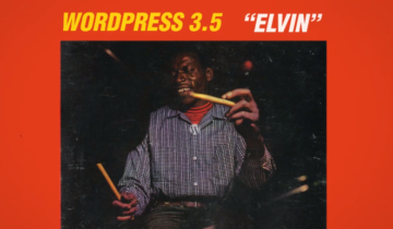 WordPress 3.5 Elvin