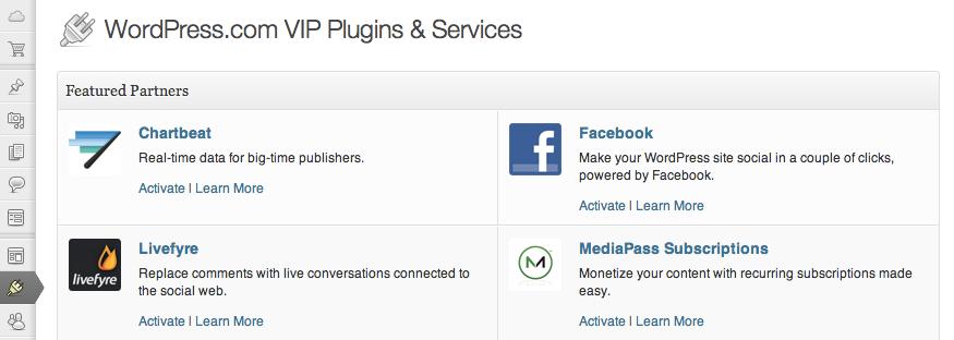 Плагины WordPress.com Enterprise