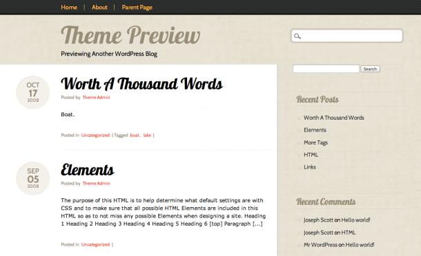 Тема для WordPress Infoist