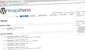 Цикл разработки WordPress