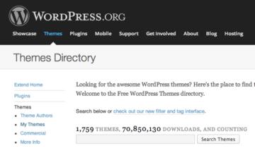 Выложить тему на WordPress.org
