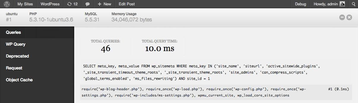Информация о запросах в MySQL