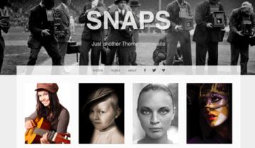 Тема для WordPress Snaps