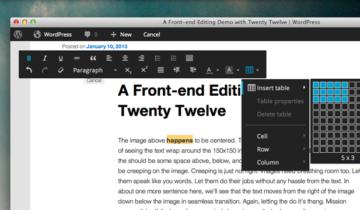 Новый редактор WordPress