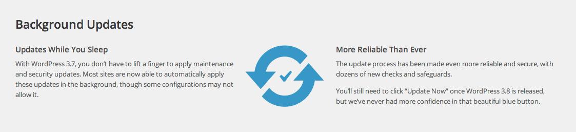 Автоматические обновления WordPress