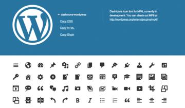 Dashicons в WordPress