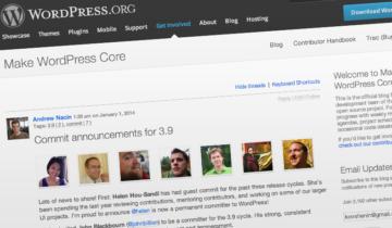 WordPress 3.9 выйдет 15 апреля