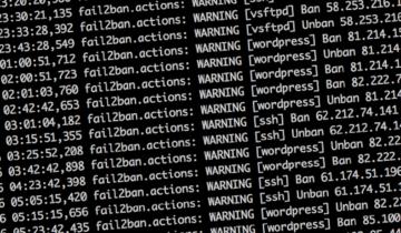 Настройка fail2ban для WordPress