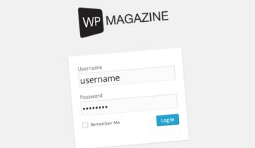 Свой логотип при входе в WordPress