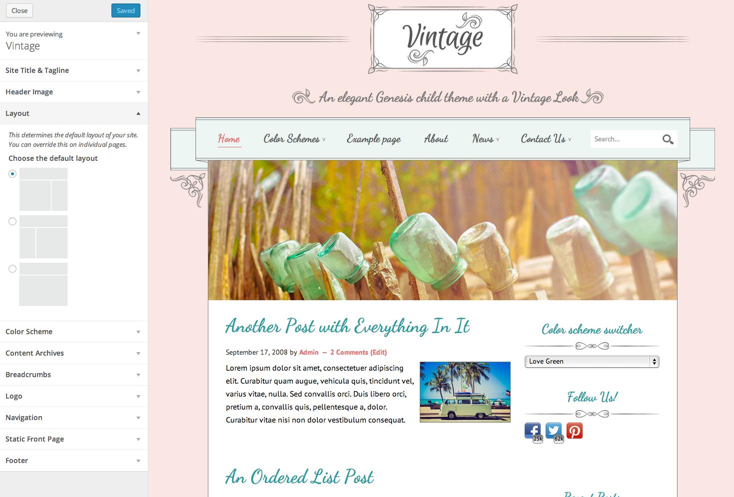 Тема для WordPress Vintage от Yoast