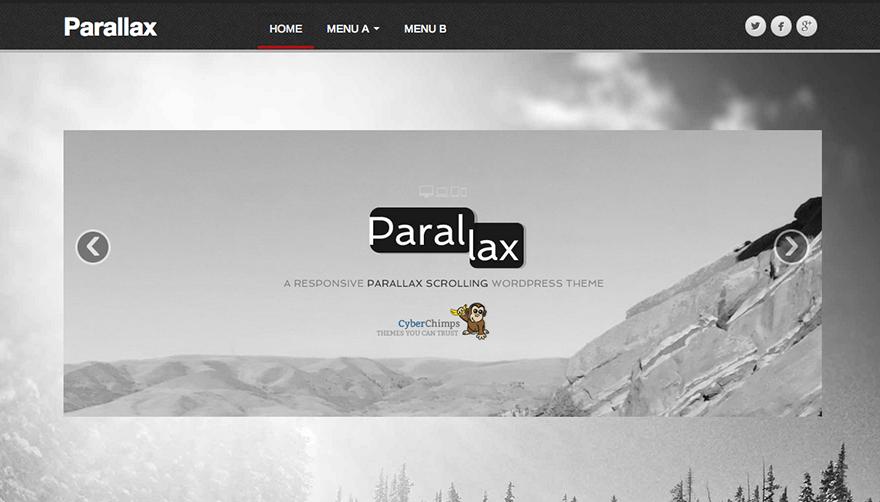 Тема Parallax