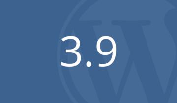 WordPress 3.9 Beta 1