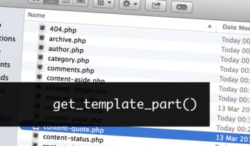 get_template_part в WordPress