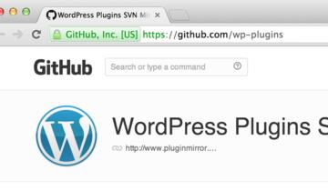 Плагины WordPress на GitHub