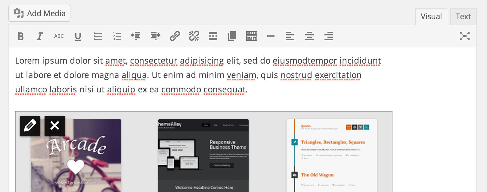 Новый редактор в WordPress 3.9