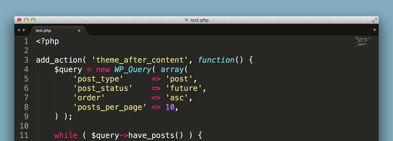Полезные запросы с WP_Query в WordPress