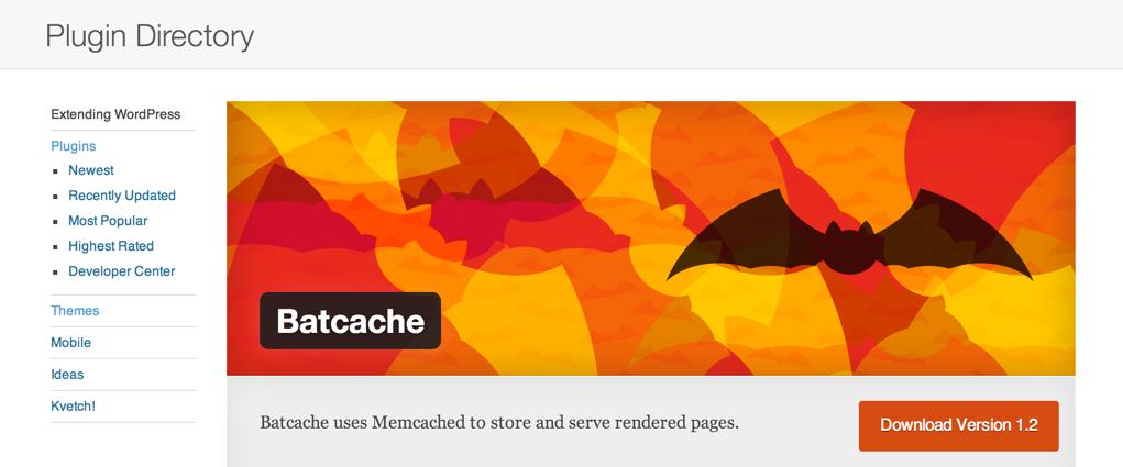 Плагин Batcache для WordPress