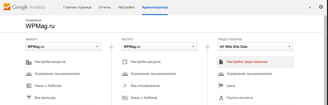 Настройка отслеживания поиска для WordPress