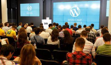 Фото с WordCamp Russia 2013