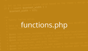 Файл functions.php в WordPress