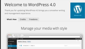 WordPress 4.0 RC1