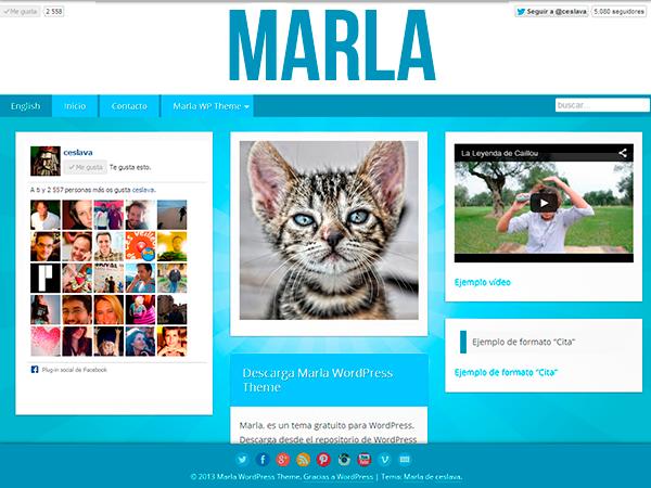 Тема Marla