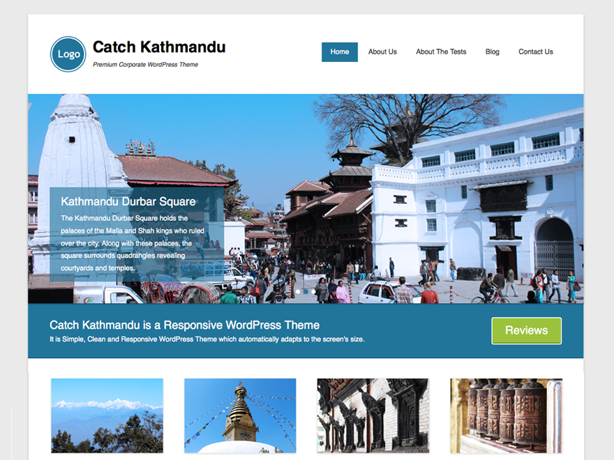 Тема Catch Kathmandu