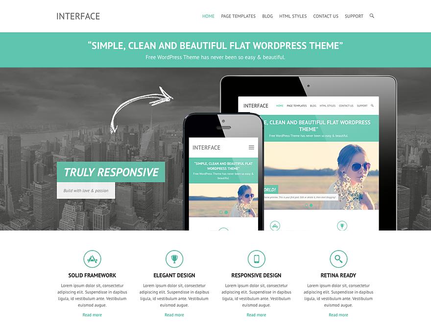 Interface WordPress Theme
