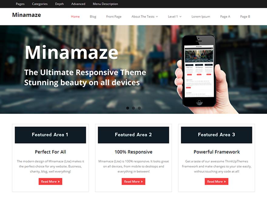 Корпоративная тема Minamaze