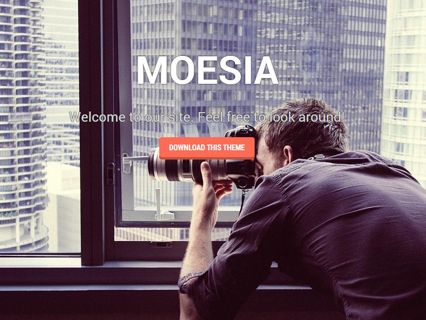 Бесплатная тема Moesia
