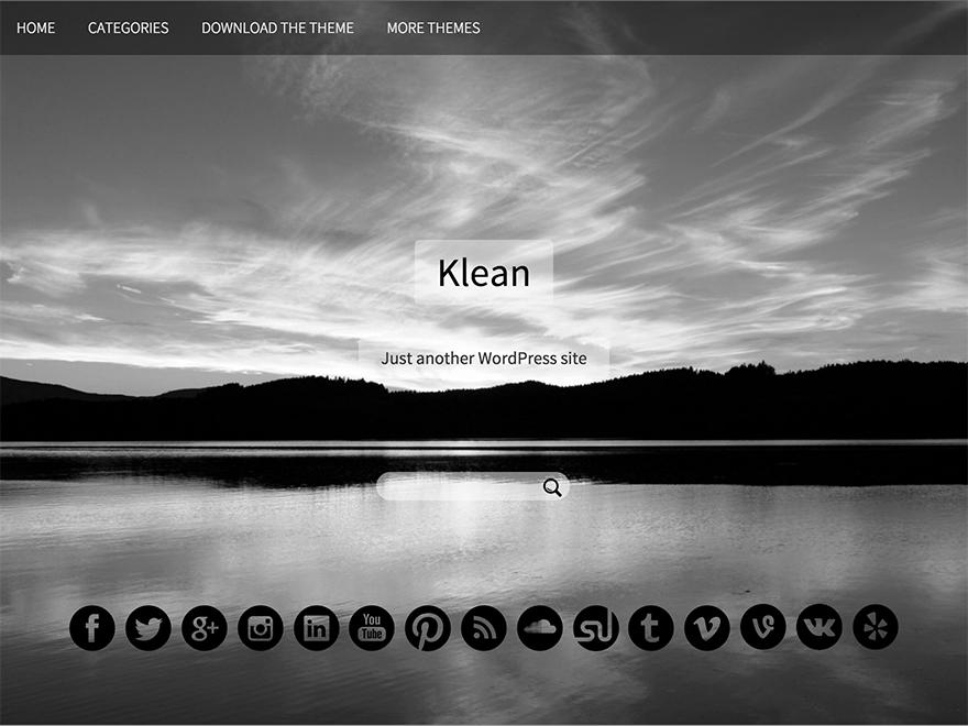 Тема Klean