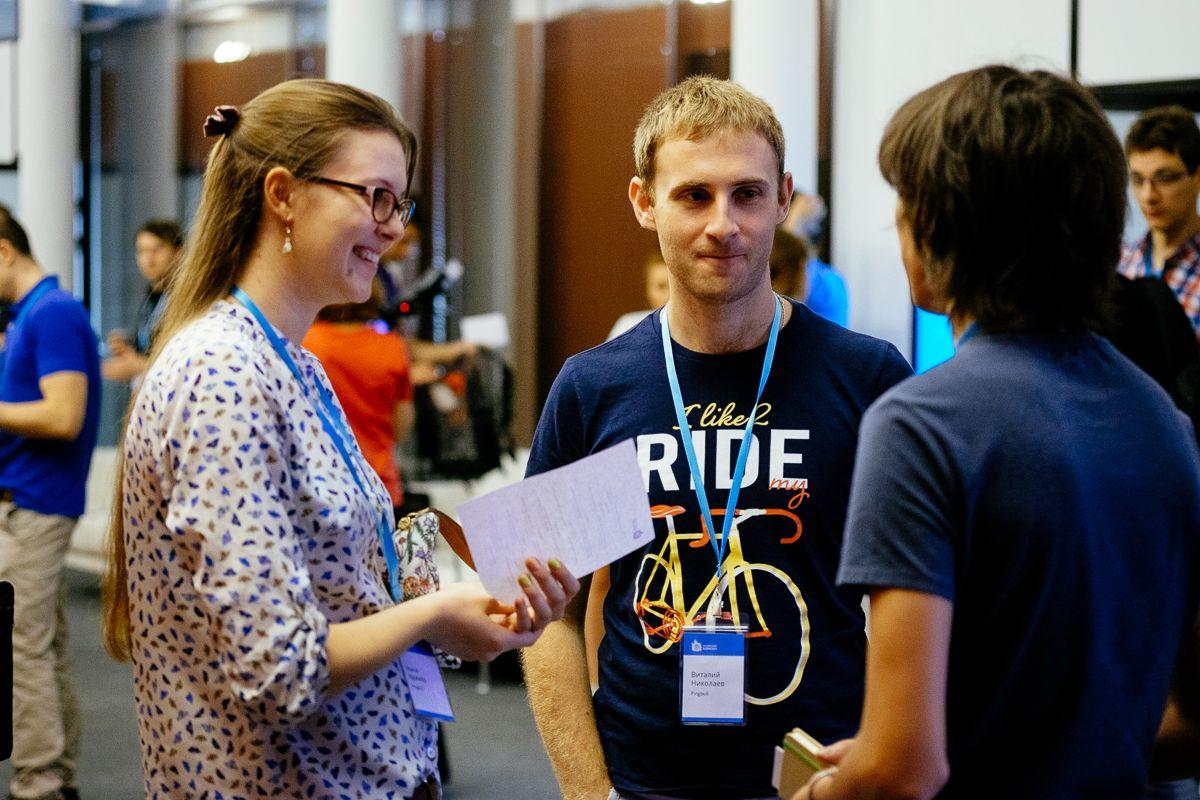 Фото с конференции WordCamp Russia в Москве