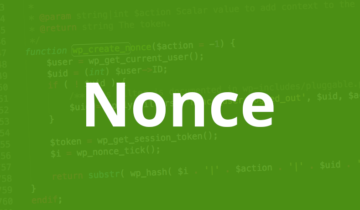 Числа nonce в WordPress