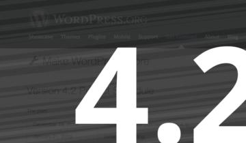 WordPress 4.2 бета 1