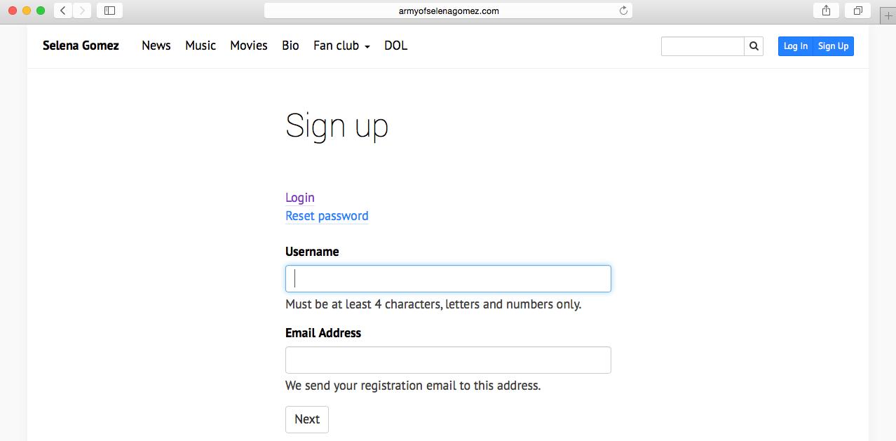 Собственная страница регистрации в WordPress Multisite
