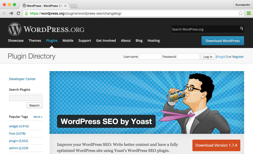 Плагин WordPress SEO от Yoast