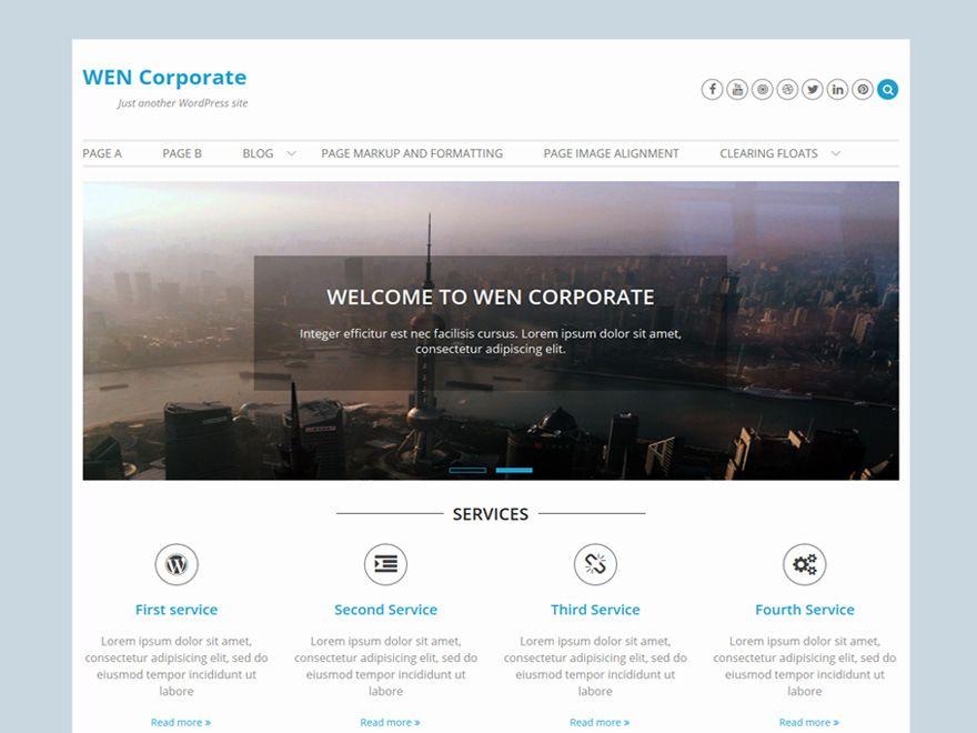 Тема Wen Corporate