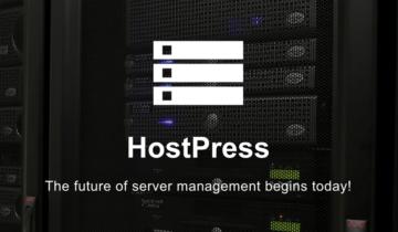 Хостинг-панель на базе WordPress