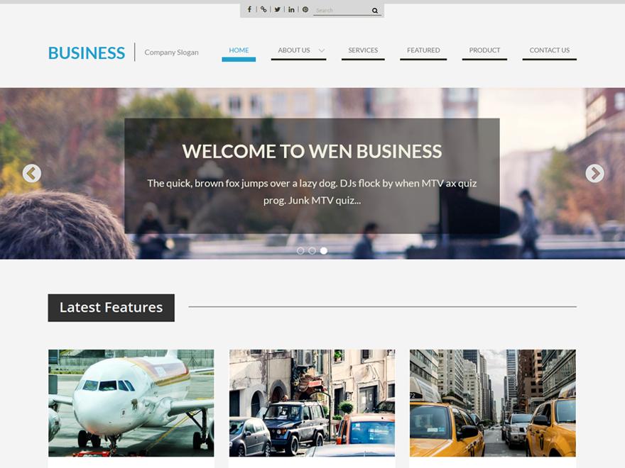 Корпоративная тема WEN Business