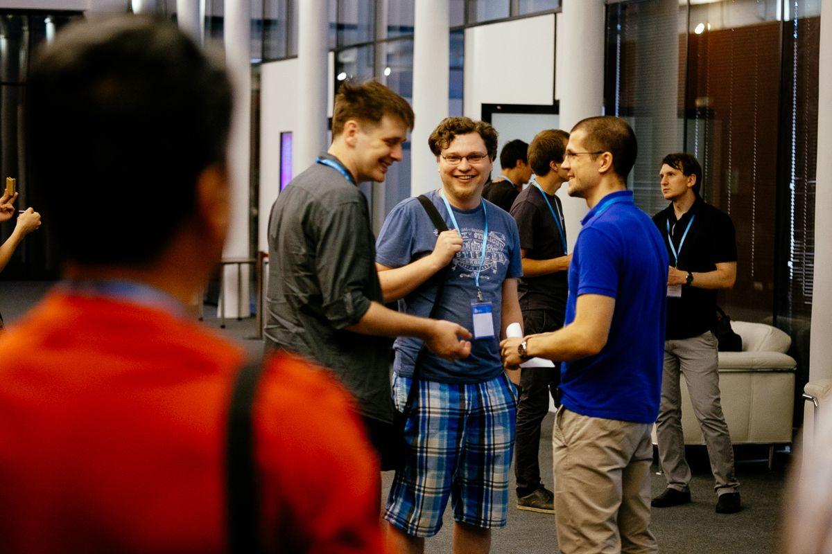 Фото с конференции WordCamp Russia 2014