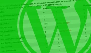 Как изменить домен в WordPress
