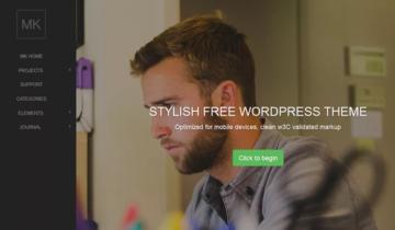 Лучшие бесплатные темы для WordPress за август 2015