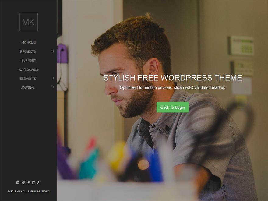 Тема для WordPress Mk