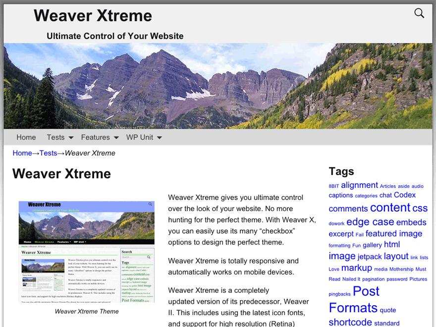 Тема Weaver Xtreme
